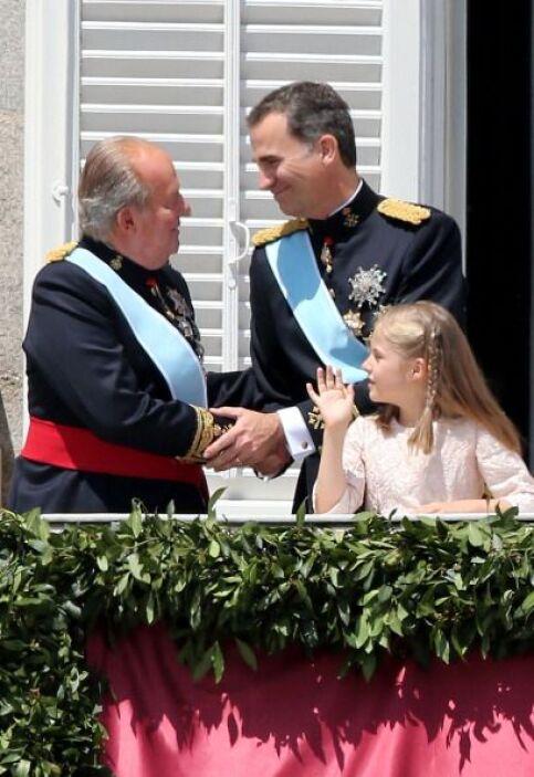 La proclamación de Felipe VI pudo estar llena de protocolos pero también...