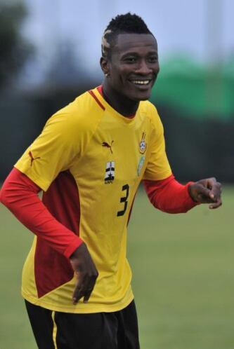 Asamoah Gyan:Volante de Ghana que ha contagiado el espíritu de entrega y...