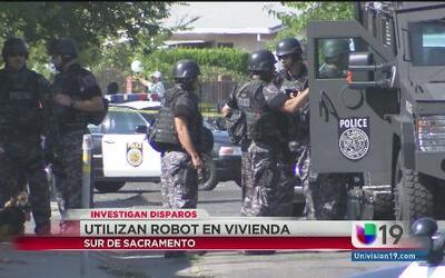 Intensa movilización policiaca por tiroteo en Sacramento
