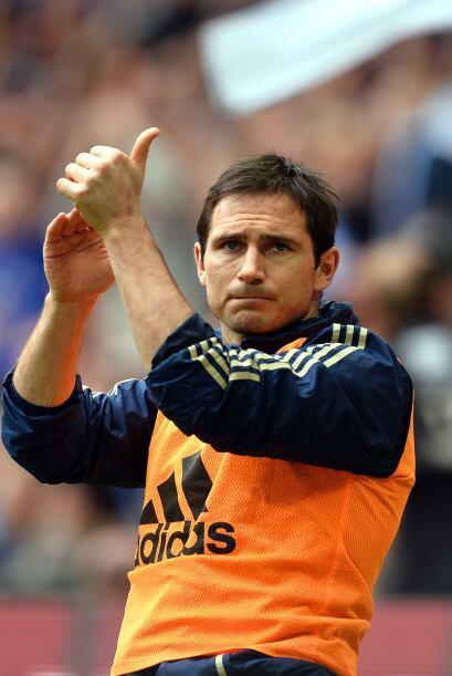 El eterno mediocampista inglés del Chelsea, Frank Lampard, jugará la mit...