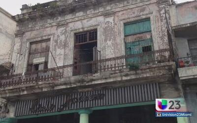Cuba: Personas viviendo en lo inhabitable