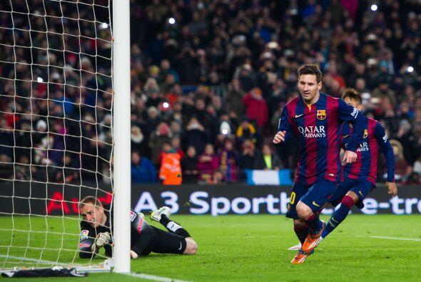 En los 10 partidos que lleva disputados en el 2015 Lionel Messi ha anota...