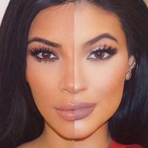 Impresionante: Kylie Jenner es la fotocopia de Kim Kardashian  gallery-1...