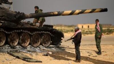 Los ataques de la coalición están causando estragos entre las fuerzas le...