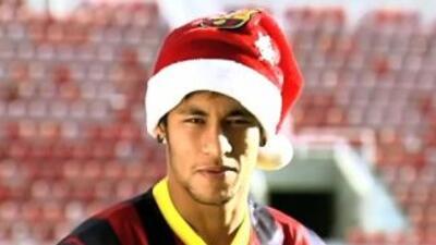 Barcelona grabó un saludo navideño.