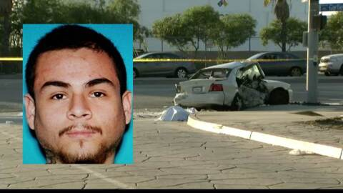 Bryan Rojas, sospechoso de causar el accidente mortal en South Gate