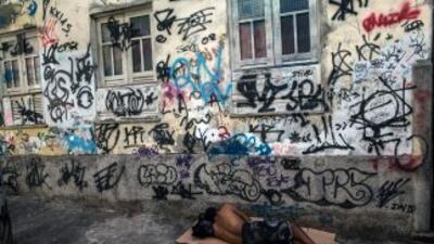 Los albergues para los Sin Techo en Río de Janeiro ya no tienen espacio...