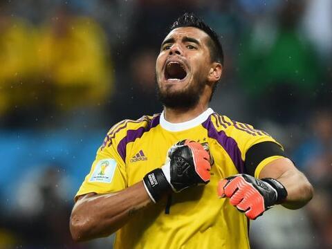 En sus cinco presentaciones anteriores, Sergio Romero, ya había r...