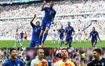 Italia acabó con la jerarquía europea de España.