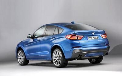 BMW presentó el X4 M40i 2016.