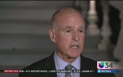Jerry Brown logró histórico triunfo en California
