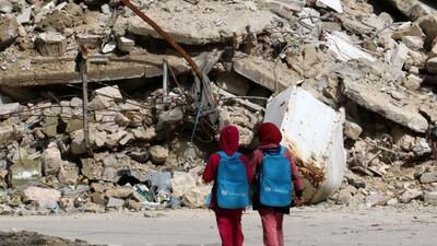 Unos 14 millones de niños de Oriente Medio se han visto afectados por lo...