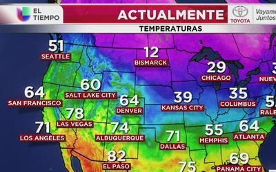 Frío y sensaciones térmicas más bajas en Chicago, el pronóstico para est...