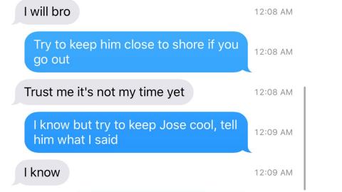 Los mensajes entre Eddy Rivero y Will Bernal
