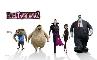 Personajes Hotel Transylvania 2