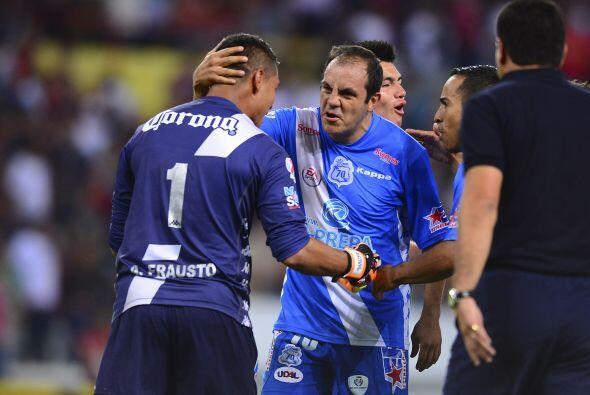 El ahora portero del Puebla también fue pieza importante en las semifina...