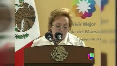 Vuelven a dictar auto de formal prisión a Elba Esther Gordillo
