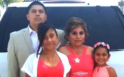 Rosario Lagunas murió al ser atropellada.