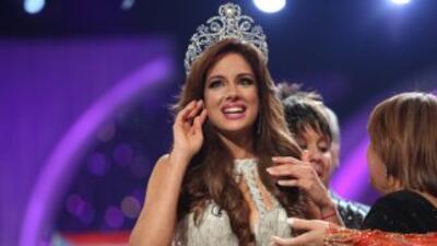 La coronación de Aleyda Ortiz.