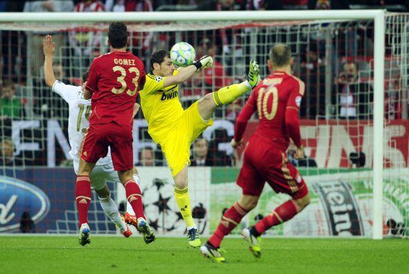 Bayern fue el equipo que más atacaba e Iker Casillas tuvo que est...