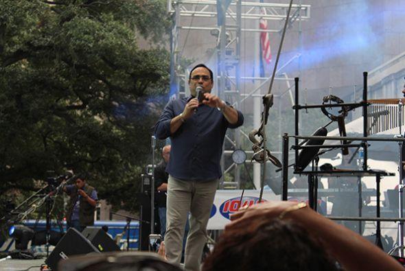 Seguno día en el Festival Puertorriqueño y Cubano, el Caballero de la Sa...