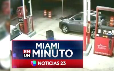'Miami en un Minuto': autoridades buscan al sospechoso de atropellar a u...