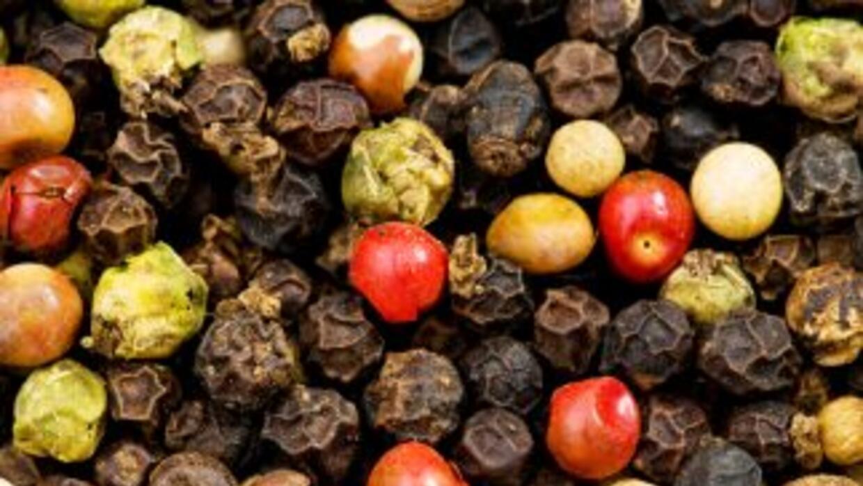 La pimienta es uno de los condimentos más usados.
