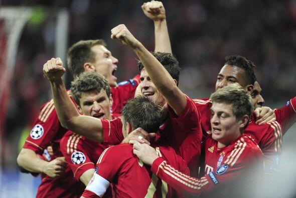 El 'Matador' devolvía la ventaja al Bayern justo cuando más falta hacía...