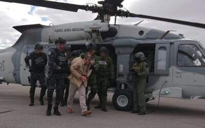 El Chapo helicoptero