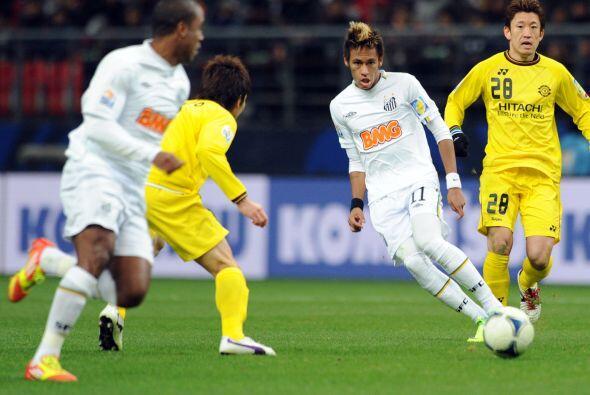 Neymar fue la gran figura del partido.