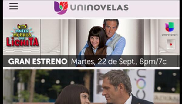 Univision App UniNovelas