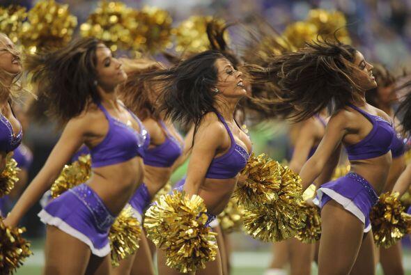 Bellas, sexys, encantadoras y divertidas, son las cheerleaders de la NFL...