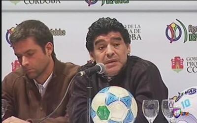 """Maradona: """"Messi no jugó a nada en este mundial. Conmigo fue mejor"""""""