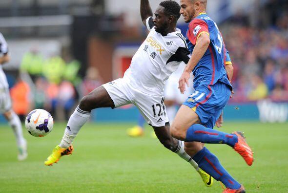 Por último, el Swansea chocaba con el Crystal Palace luego de dar...