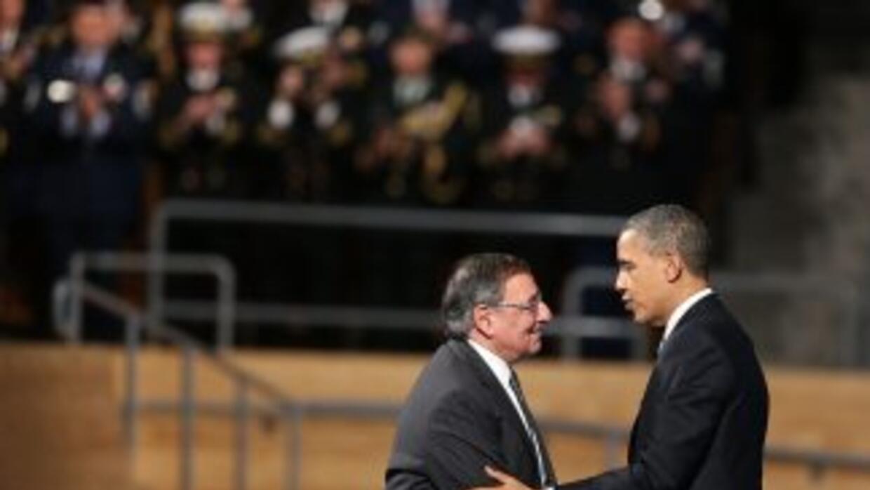Dos años después de heredar un Pentágono dividido en tres conflictos, Le...