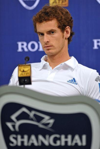 Número 4: El atractivo Andy Murray permanece en la cuarta posición. Con...