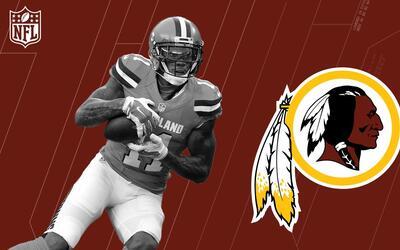 Terrelle Pryor, bienvenido a los Washington Redskins