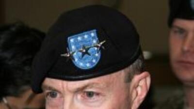 General Charles Jacoby,jefe del Comando Norte de Estados Unidos.