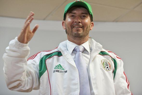 Luego del nombramiento del 'Chepo' de la Torre como DT, México co...