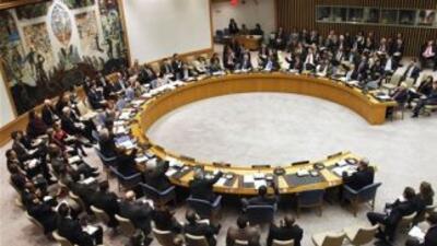 Entre quienes se opusieron a la resolución estuvieron Rusia, China, Irán...