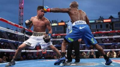 Bradley dominó a Vargas (Foto: Top Rank).