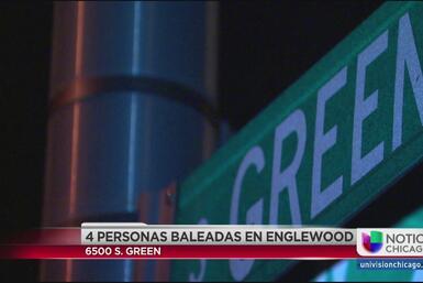 Balean a cuatro adolescentes en el barrio de Englewood
