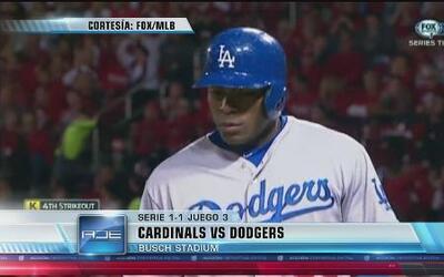 Dodgers cayeron 3-1 contra St. Louis