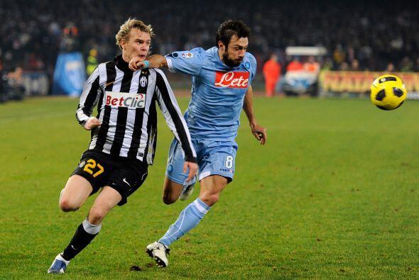El último duelo de la fecha tuvo como rivales a Juventus y Napoli.