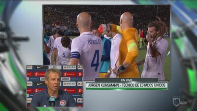 """Klinsmann: """"Tenemos que juntarnos y levantar cabeza"""""""