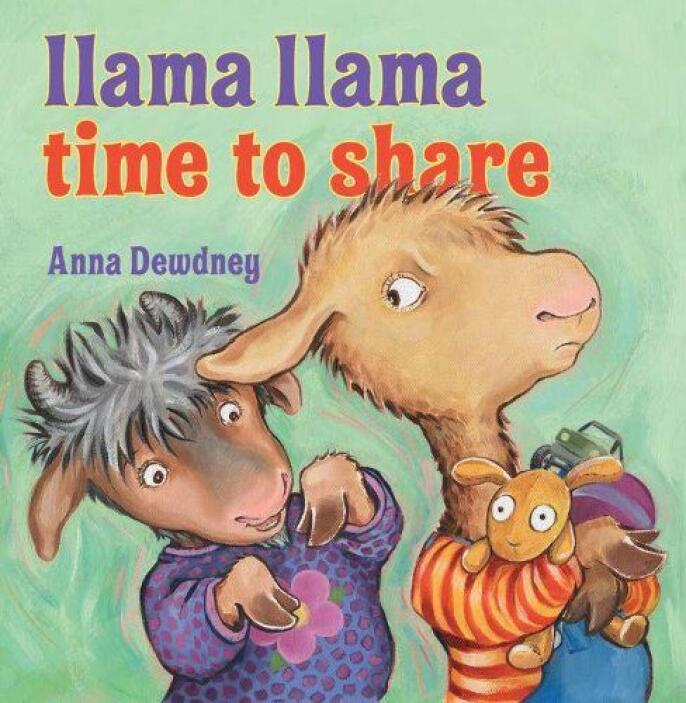 LLAMA LLAMA TIME TO SHARE - Diversión para leer en voz alta y de utilida...