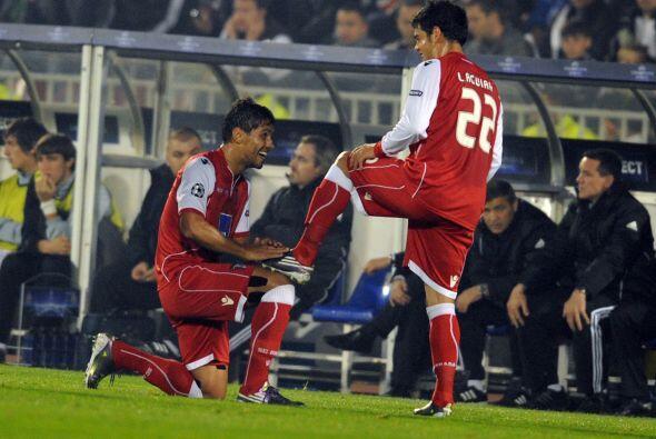Con gol de Moisés, el Braga ganó por 1-0 y aún tien...