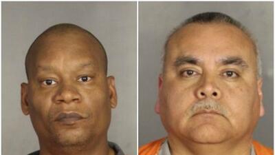 Darren Bradley y Steve Canava, los dos oficiales arrestados en operativo...