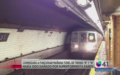 Reinicia operaciones tren subterráneo
