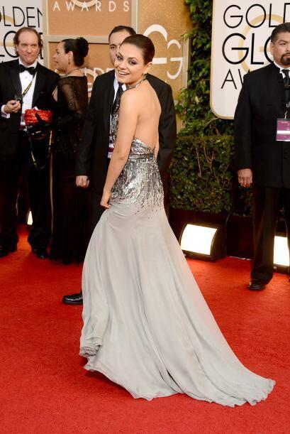 Mila Kunis se enfundó en un vestido de Gucci. Simplemente nos fas...